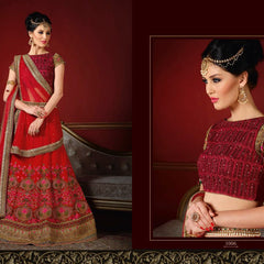 HEAVY EMB WITH HANDWORK LEHENGA