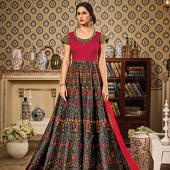 Semi Stiched SKD / LEHENGA