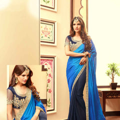 Art Silk & Sparkle Georgette