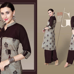 Readymade Kurti with Bottom