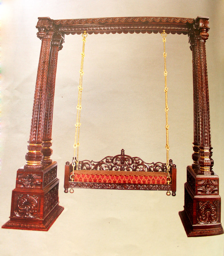 Deep Carved Swing with 4 pillars