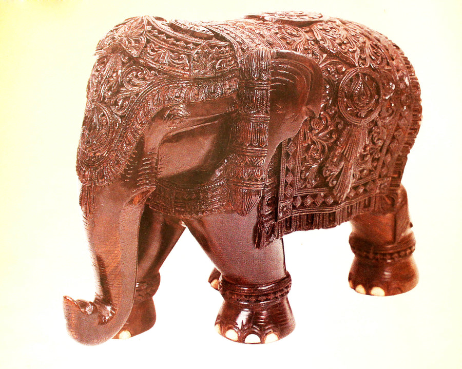 Carved Elephant Trunk down