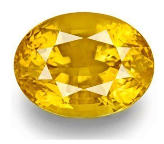Ramneek Jewels 100% Original Pukhraj stone / Yellow Saphhire in 13.25 Ratti ( AAA Quality Gemstone ) For success and marriage