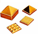 Divya Shakti Pyramid Set- 2 Inch for Vastu tool/remedy ( Feng Shui item )