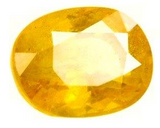 Divya Shakti 2.5 Carat Pushyaragam stone / Yellow Saphhire ( AAA Quality Gemstone )100% Original and Certified