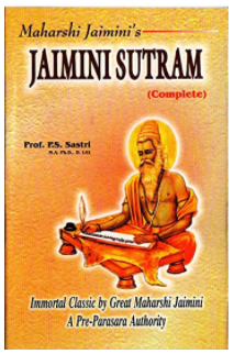 Jaimini Sutram ( Astrology book ) in English