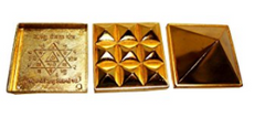 Divya Shakti Pyramid Set- 1 Inch for Vastu tool/remedy ( Feng Shui item )