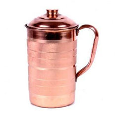 COPPER LUXURY JUG/SILVER TOUCH JUG NO. 4