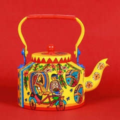 Indian Madhubani Kettle