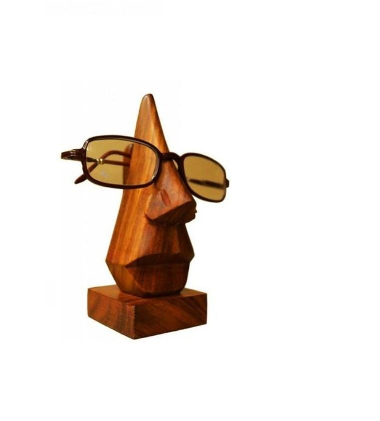 Desi Karigar SPECTACLE HOLDER SPECS EYEGLASSES BOX WOOD
