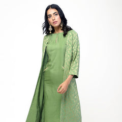 Green Gota Jacket Set