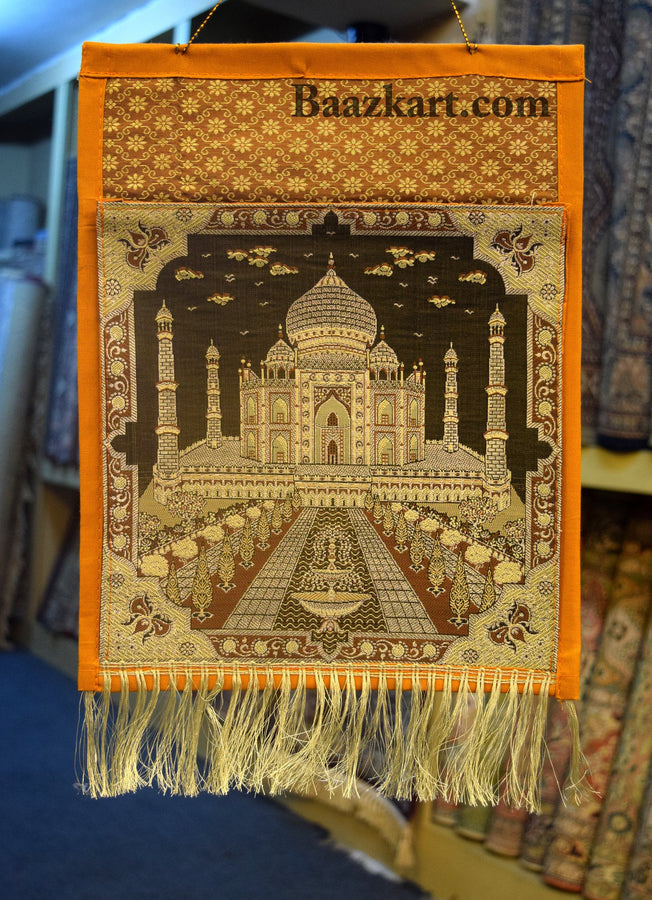 Taj Mahal Silk Letter Holder