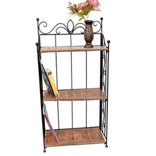 Desi Karigar Home Decor 3 Shelf Rack/Book Shelf Big