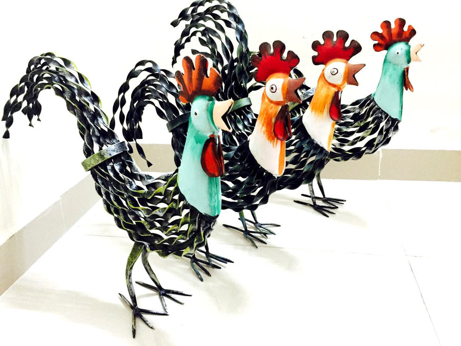 Garden hen - Set Of 4