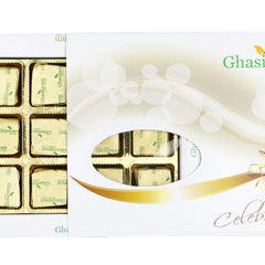 Diwali Chocolates - Ghasitarams Chocolates Assorted Chocolates 12 pcs White Box