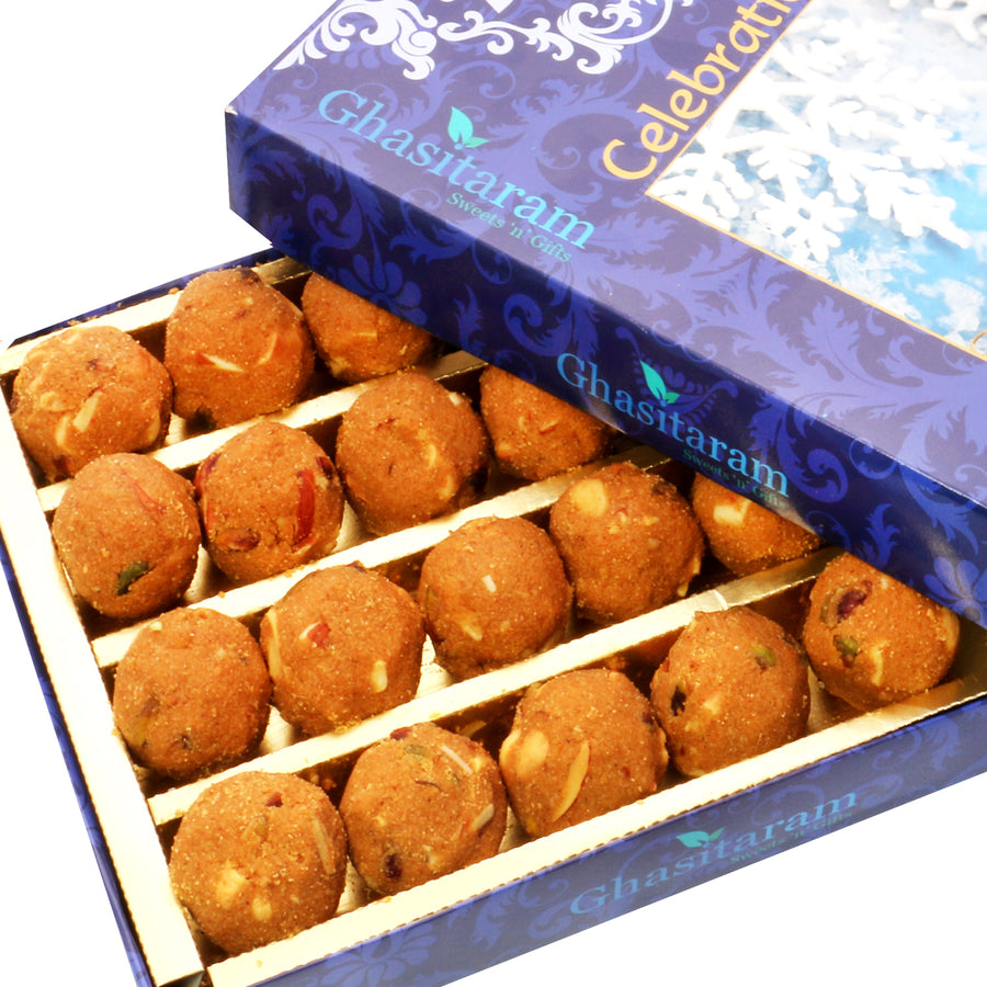 Diwali Gifts sweets- Ghasitaram's Special Besan Laddoo (800 gms)