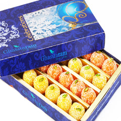 Diwali Gifts sweets-Ghasitarams Coconut Delight 200 gms