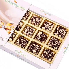 Diwali Chocolates - Marble Chocolate Box (12 pcs)