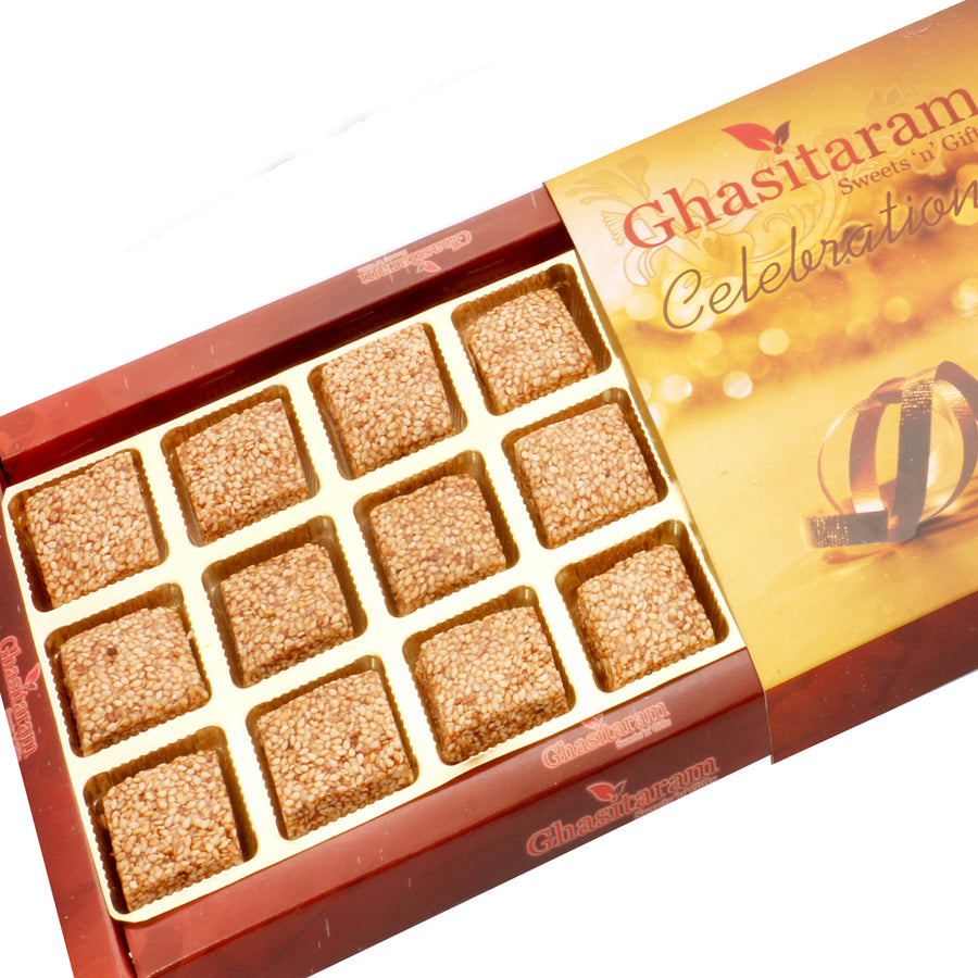 Diwali Gifts sweets- Roasted Seasame Delight 18 pcs