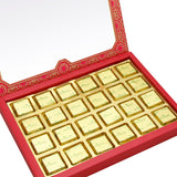 Diwali Chocolates- 24 pcs Pink Printed Assorted Chocolate Box