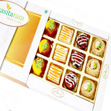 Diwali Gifts Sweets- Assorted Exotic Mix Sweets 12 pcs