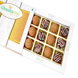Diwali Gifts Sweets- Bournvita and Chocos Cashew Laddoos 12 pcs