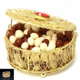 Ghasitaram Gifts Chocolates - Golden Mesh Nutties Box