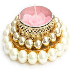 Diwali Candles- White Pearl T-Lite