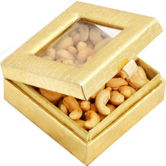 Diwali Dryfruits- Golden Small Roasted Cashew  Box