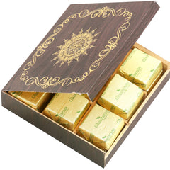 Diwali Chocolates- Wooden 9 pcs Chocolates  Box