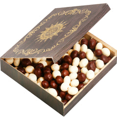 Diwali Chocolates- Small Wooden Nutties Box