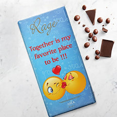 Rage Together is my favorite place to be !!! - Milk Chocolate