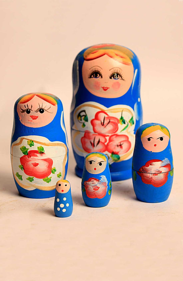Babusshka Dolls Set - Blue