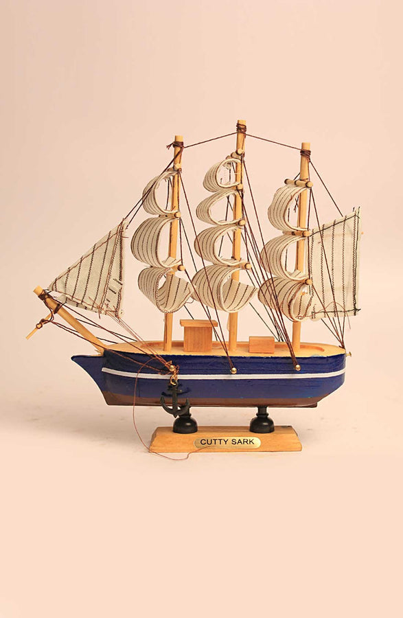 Handmade Wooden Sailing Ship