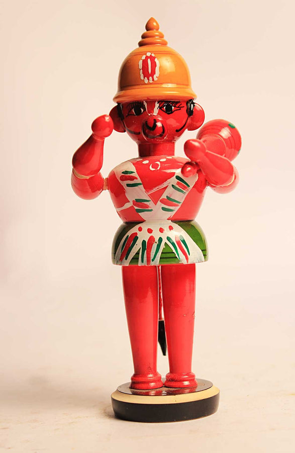 WOODEN HANUMAN TOY
