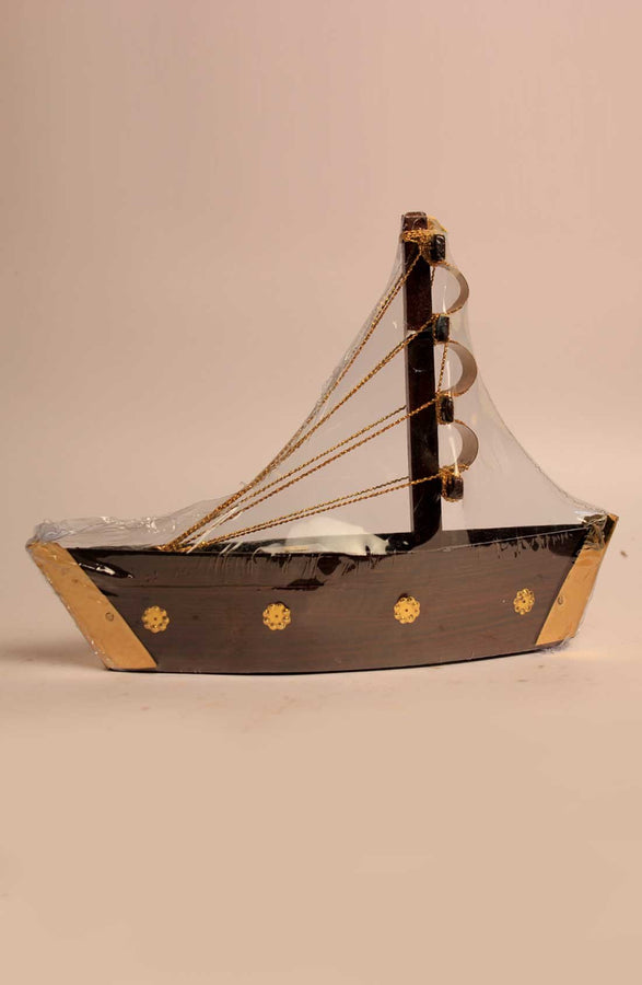 Wooden Handcrafted Ship Toy