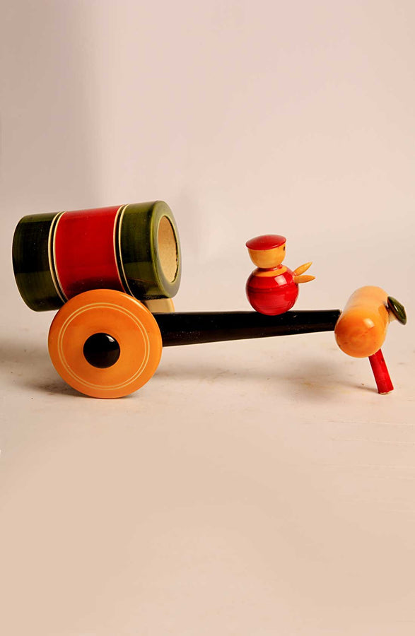 Wooden Bullock Cart Toy