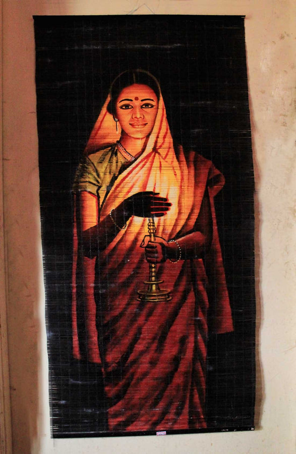 Wall Hanging Painting on Carpet