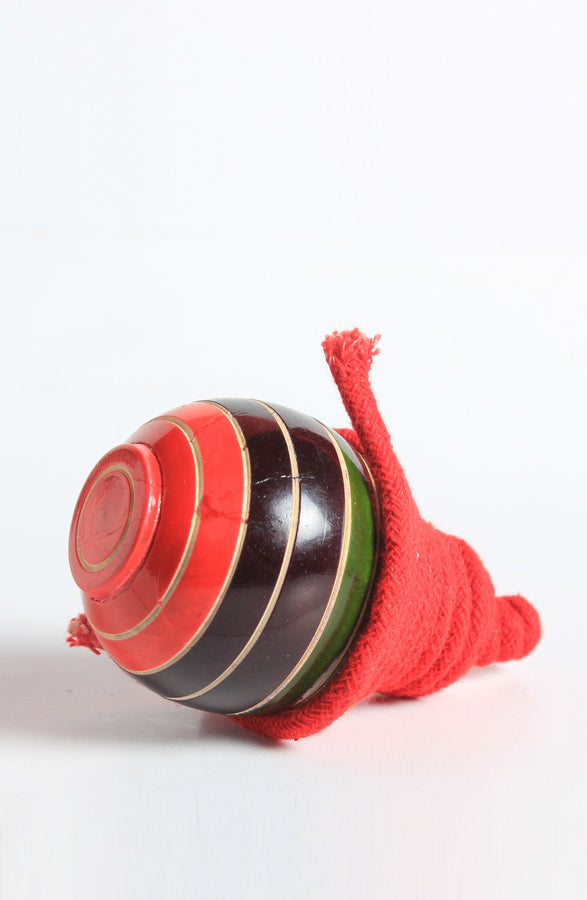 Wooden Spinning Tops with String