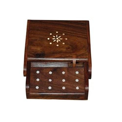 Desi Karigar Antique wooden cig. Dispenser