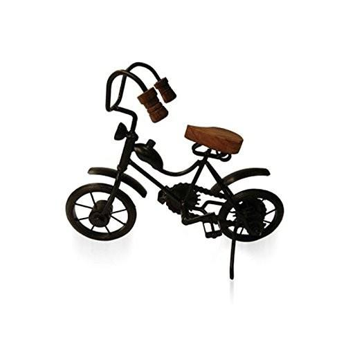 Desi Karigar Wooden & Iron Motor Cycle Antique Home Decor Product
