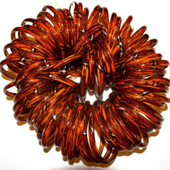 Brown Glass Bangles (Slim)