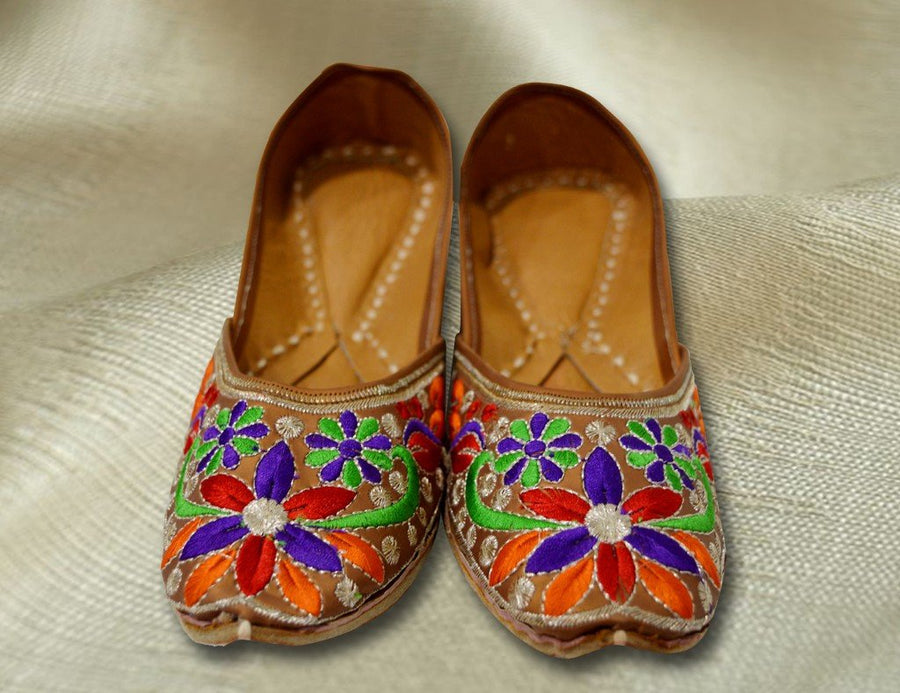 Phulkari Designer Jutti for Women