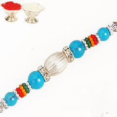Rakhis Online Usa -FT- 458 Fancy Thread Rakhi