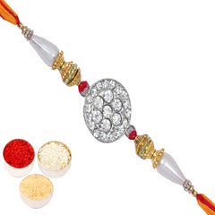 Rakhis Online Usa - D-3701 Diamond Rakhi