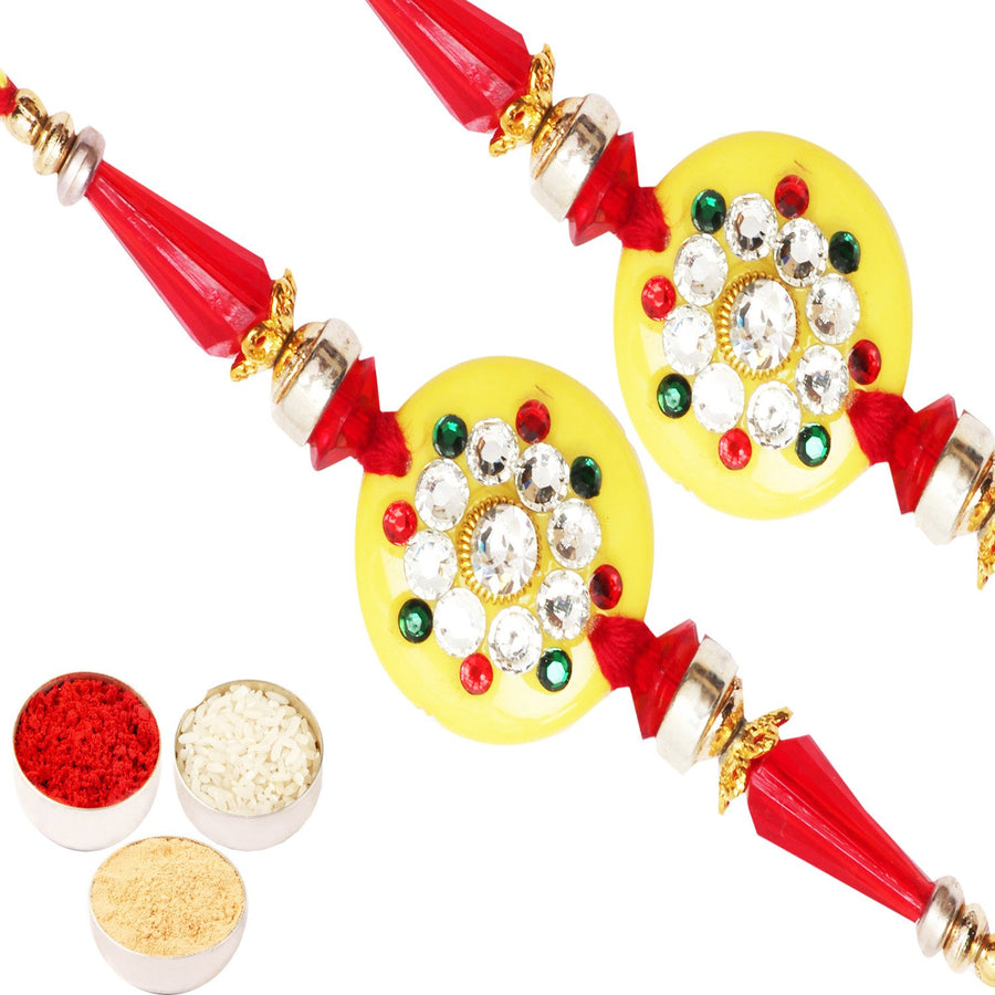 Set of 2 Rakhi