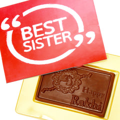 Rakhi Chocolates-  Best Sister Chocolate Box