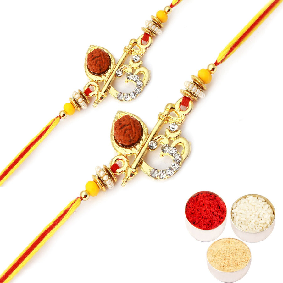 Set of 2 Rakhis