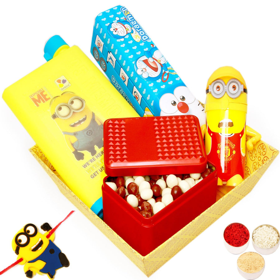 Kids Gifts with Rakhi-Nutties Kids Hamper