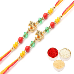 Rakhis Online- Set of 2 6013  Rakhi Thread